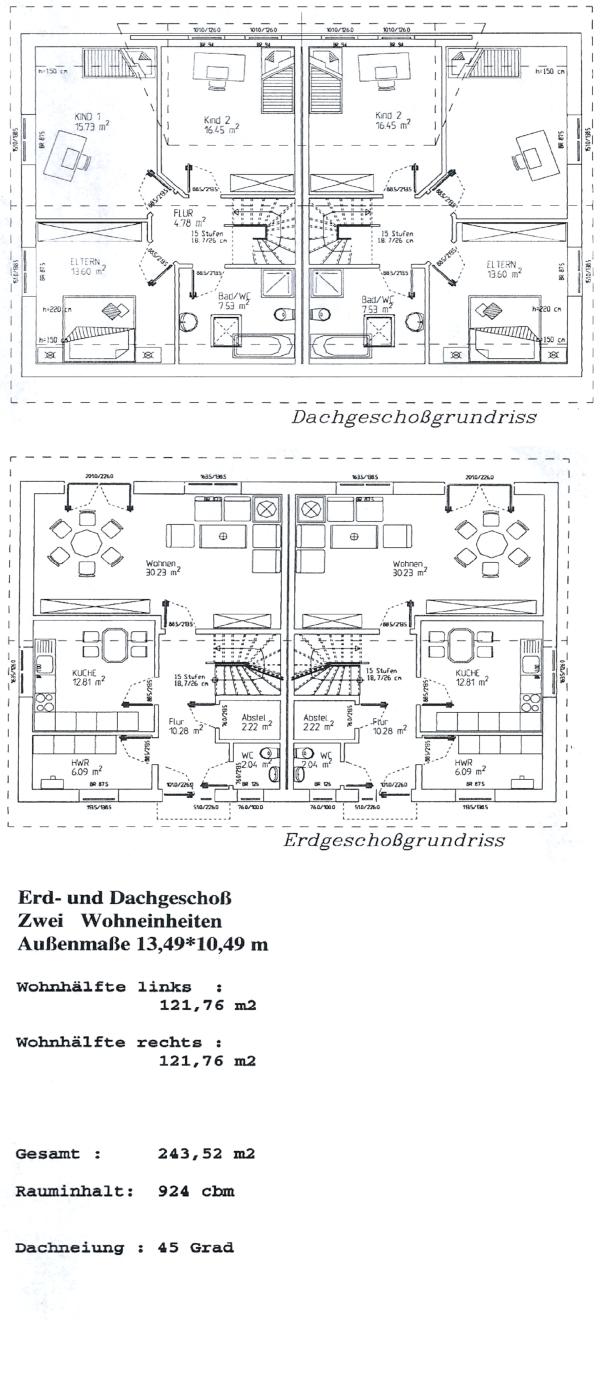 ^ Satteldach: 2 Familienhaus edeker-Bau ist Ihre Baugesellschaft ...